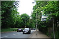 TQ2372 : Entering Wandsworth, Wimbledon Park Side by N Chadwick