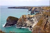 SW8469 : Pendarves Island and Pendarves Point by Steve Daniels