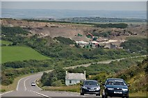 SX1691 : North Cornwall : The A39 by Lewis Clarke