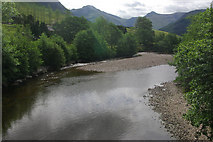 NN1273 : River Nevis, Glen Nevis by Stephen McKay