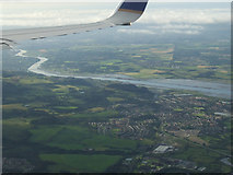 NS3977 : East Dumbarton and the Clyde from the air by Thomas Nugent