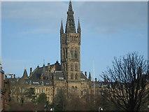 NS5666 : Glasgow University from Kelvin Hall by Tom Morrison