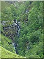 NN9777 : Waterfall in Glen Tilt by James Allan