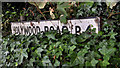 J3876 : Holywood Road sign, Belfast by Albert Bridge