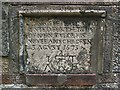 NS2777 : The gravestone of John Taylor by Lairich Rig