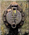 D3902 : PKS drain cover, Larne by Albert Bridge