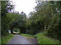 TM4265 : Moat Road & the footpath to Harrow Lane by Adrian Cable