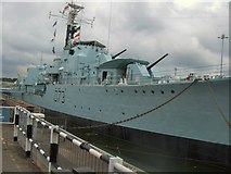 TQ7569 : HMS Cavalier - Chatham Dockyard by Paul Gillett
