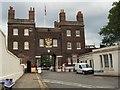 TQ7568 : Gatehouse - Chatham Dockyards by Paul Gillett