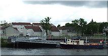 NS5565 : New pontoon at Govan by Thomas Nugent