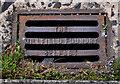 J3775 : Millfield Foundry grating cover, Belfast (2) by Albert Bridge