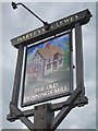 TQ3936 : The Old Dunnings Mill sign by Oast House Archive