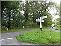 TQ3528 : Direction sign south of Ardingly, West Sussex by nick macneill