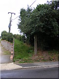 TM4160 : Footpaths to Church Farm & B1069 Snape Road by Geographer