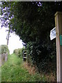 TM4160 : Footpath to Church Farm by Adrian Cable