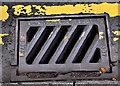 J3371 : Bo-Ness grating, Belfast (2) by Albert Bridge