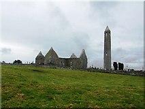M4000 : Kilmacduagh monastic site by John M