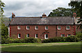 NY6825 : House in red sandstone, Dufton by Trevor Littlewood