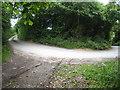 SX0268 : Hairpin bend near Lower Burlorne by Rod Allday