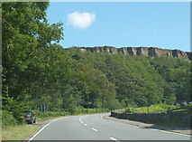SK2480 : Millstone Edge from the A6187 by Andrew Hill