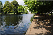 TL0549 : River Great Ouse, Bedford by Philip Halling
