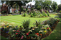 TL0549 : Embankment Gardens, Bedford by Philip Halling