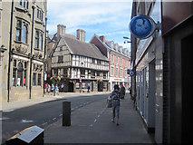 SJ2929 : Cross Street Oswestry by John Firth