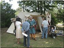 TQ4667 : British-Roman and visitors by David Anstiss