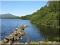 NN5606 : Loch Venachar by M J Richardson