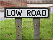 TM4160 : Low Road sign by Geographer