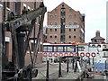 SO8218 : Alexandra Warehouse, Gloucester Docks by Christine Johnstone