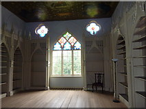 TQ1572 : The library at Strawberry Hill House, Richmond by pam fray