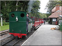 SS6846 : Woody Bay station, on the Lynton and Barnstaple Railway by Roger Cornfoot