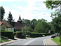 TL4101 : Horseshoe Hill, Upshire Village by Malc McDonald