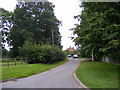 TG0827 : Church Lane, Wood Dalling by Adrian Cable