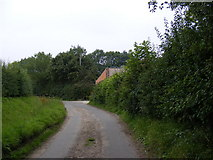 TG0826 : Church Lane, Wood Dalling by Adrian Cable
