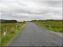 G7986 : Road at Meenybraddan by Kenneth  Allen