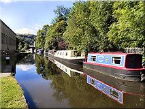SD9926 : Rochdale Canal, Hebden Bridge by David Dixon