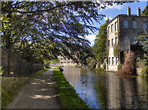 SD9927 : Rochdale Canal at Hebden Bridge by David Dixon