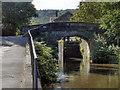 SD9927 : Rochdale Canal, Bridge #17 by David Dixon