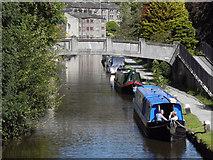 SD9927 : Rochdale Canal, Bridge 16a by David Dixon