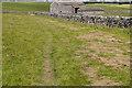 SD9457 : Footpath and Bridleway near Scarnber Laithe by Tom Richardson