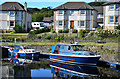 NR8585 : Crinan Canal basin Ardrishaig by The Carlisle Kid