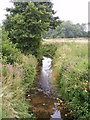 TG0324 : Stream after passing under Reepham Road by Adrian Cable