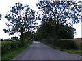 TM3964 : Clay Hills, Saxmundham by Geographer