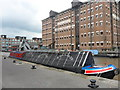 SO8218 : Working Narrow Boat Hadar moored in Gloucester Docks outside the National Waterways Museum by Keith Lodge