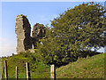 SD5045 : The Remains of Greenhalgh Castle by David Dixon