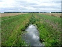 SE9914 : Land Drain off Carr Lane by JThomas