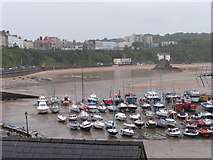 SN1300 : Tenby harbour by Rob Purvis