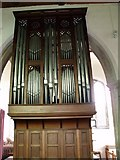 SK8976 : Organ in St Botolph's church by J.Hannan-Briggs